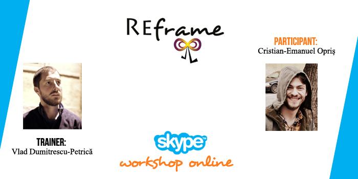 REframe online: Cristian-Emanuel Opriș (Cristi desenează & sunete)