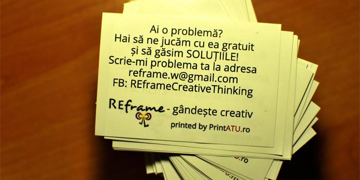 REzolvă-ți problema – gândește creativ